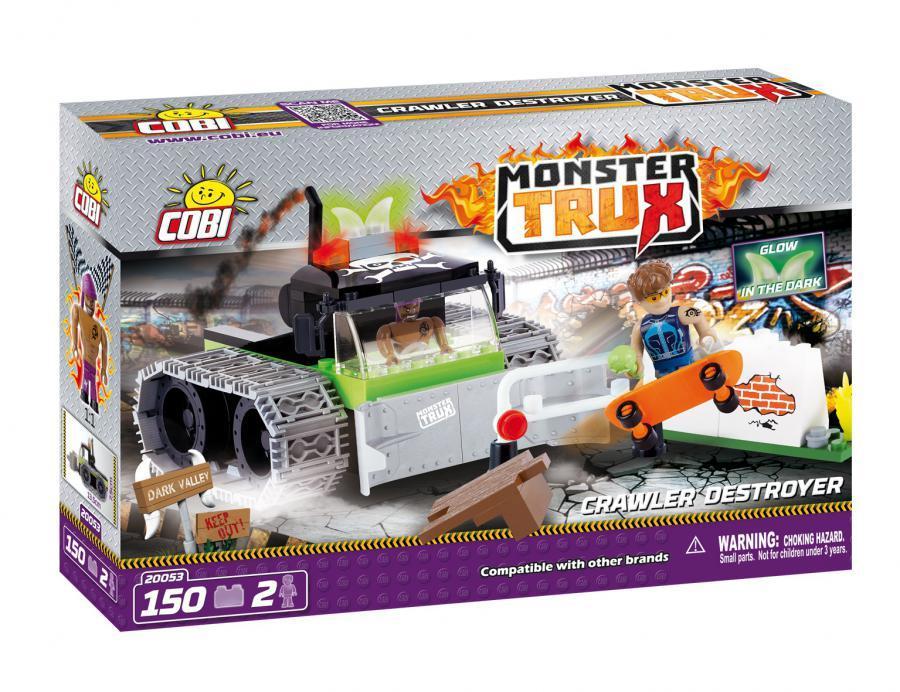 Конструктор Гусеничный разрушитель COBI серия Monster Trux (COBI-20053)