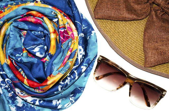 Турецкие коттоновые шарфы