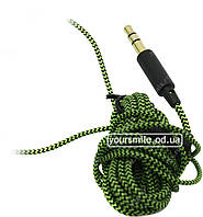 Провод для наушников Koss Porta Pro Стандарт в обмотке зеленый