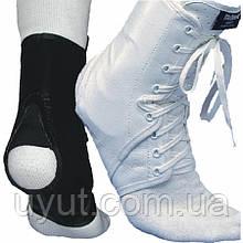 Бандаж-фиксатор на голеностопный сустав с боковыми вставками McDavid A101 Laced Ankle Guard