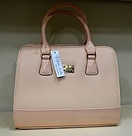 Женская сумка летняя расцветка пудра