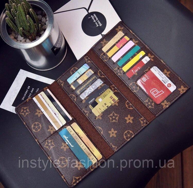 ef1cb6ca6663 Кошелек женский Louis Vuitton Луи Виттон копия фабричный Китай выбор  цветов, ...