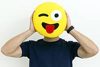 Подушка смайлик emoji