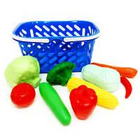 Корзинка с овощами, 9 предметов