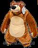 Медведь из мультика 60 см, мягкая из мультфильма игрушка, плюшевые игрушки, Маша и медведь