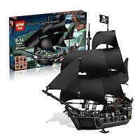 """Конструктор Lepin аналог Lego 4184 """"Пираты Карибского моря"""" - """"Чёрная жемчужина"""" 804 дет.58x37x8,5см."""