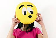 Подушка emoji Смешной смайл