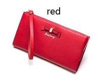 Красный стильный модный женский кожаный кошелек клатч  бумажник Baellerry Новинка