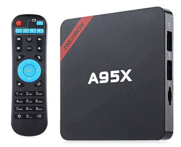 Android SMART TV BOX NEXBOX A95X (Amlogic S905X) Смарт ТВ приставка