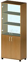 Шкаф файловый со стеклом