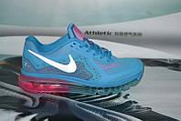 Подростковые кроссовки NIKE AIR MAX 2014 синие