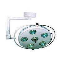 Светильник операционный бестеневой L2000 6-II-БИОМЕД» шестирефлекторный потолочный