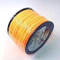 Леска для триммера 3 мм бобина (звезда)