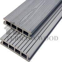 Террасная доска OkWood Classic серый 150*25*2200 мм