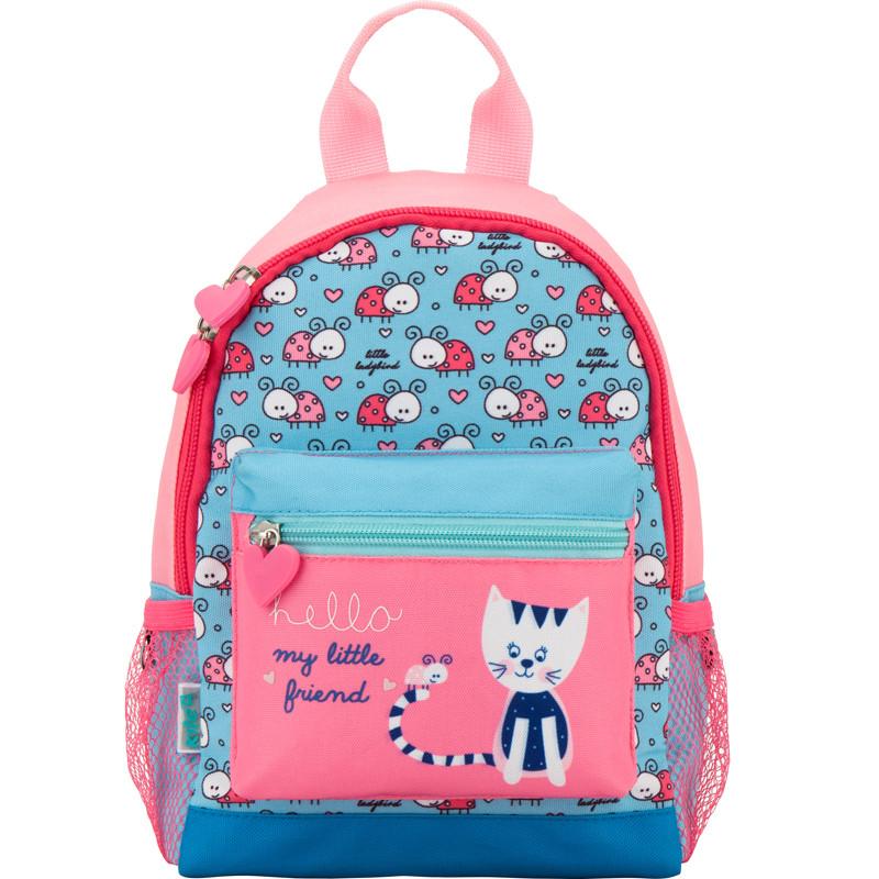 Розовый рюкзак Kite 534 Sweet kitty