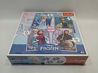 Пазлы Trefl 34210 35-48-54-70 шт Frozen 20.5*28.5 см