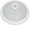 Светильник пластиковый потолочний (001) с датчиком р.360