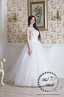 Платье свадебное белое пышное