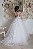 Платье свадебное белое пышное со шлейфом, фото 2