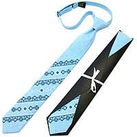 Оригинальный вышитый галстук для подростка