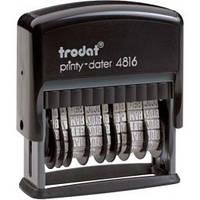 Двойной минидатер 3,8мм пластмассовый  4816 TRODAT
