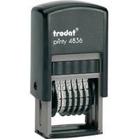 Мининумератор 3,8 мм пластмассовый 6-ти разрядный 4836 TRODAT