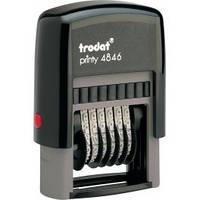 Нумератор пластмассовый 6-ти разрядный 4846 TRODAT
