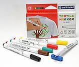 Набор маркеров для ткани Centropen Textile 6цв. (2739.6) , фото 2
