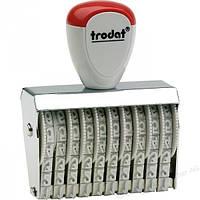 Нумератор ленточный 10-ти разрядный 4мм 15410 TRODAT