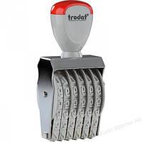 Нумератор ленточный  6-ти разрядный 5мм 1556 TRODAT