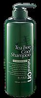 Охлаждающий шампунь на основе чайного дерева  DAENG GI MEO RI Naturalon Tea Tree Cool Shampoo,1000ml