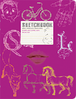 Sketchbook Скетчбук РУС SketchBook [2] малиновый переплёт