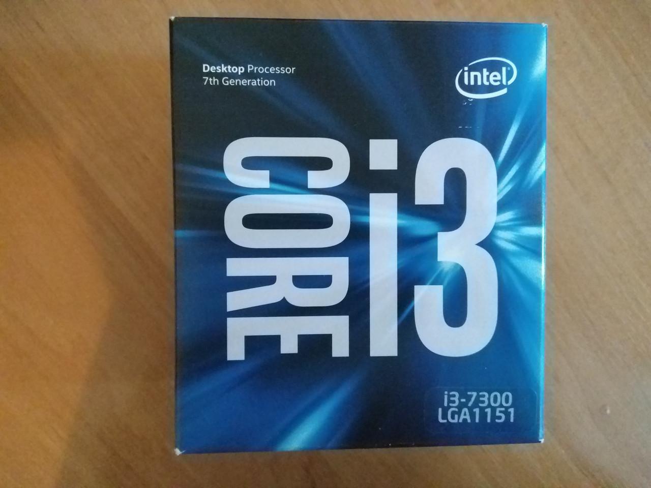 Процессор Intel Core i3-7300 (BX80677I37300)