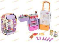 Кухня Детская набор. Холодильник - чемодан 9911
