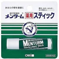 OMI Помада гигиеническая с ментолом Menturm Medicated 5 г