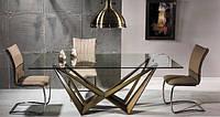 Стеклянные столы ( польская мебель для кухни и гостиной)