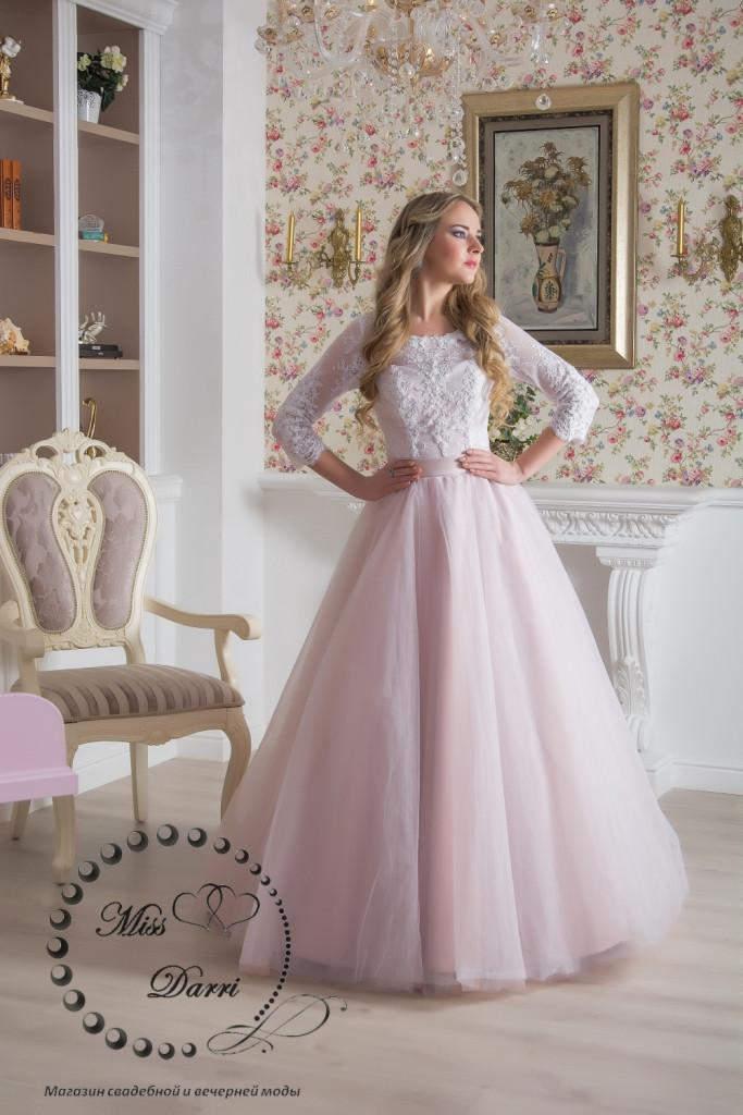 e776ae78f91a767 Платье свадебное пудровое с белым пышное: продажа, цена в Харькове ...