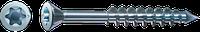 Саморізи SPAX-M, T-STAR plus, неповна різьба, оцинкований, срібний