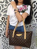 Сумка женская Louis Vuitton Луи Виттон копия фабричный Китай цвет бежевый