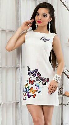 89bd693b6a5 Платье Белое Летнее