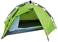 Палатка полуавтомат.  2-х местная 2-слой.  Norfin ZOPE 2  3000мм / FG / 130+(35)Х210х105см / NF