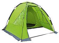 Палатка полуавтомат.  4-х местная 2-слой.  Norfin ZANDER 4  3000мм / FG / 340Х280х120см / NF