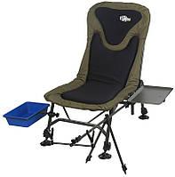Кресло карповое с оснасткой Norfin BOSTON (max140кг) / NF