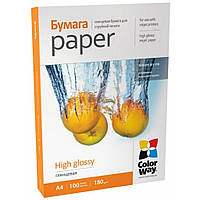 Бумага ColorWay A4 (PG180100A4)