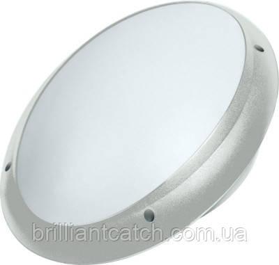 Светильник пластиковый Круг Опал ИР65 (Акуа) серый