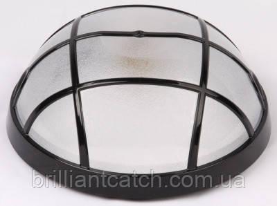 Светильник пластиковый Акуа Опак с реш IP65 20W черный