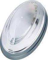 Светильник пластиковый Овал 26W (Нинов) серебро