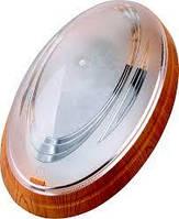 Светильник пластиковый Овал 26W (Нинов) бук