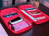 Многофункциональный органайзер Органайзер для путешествий AviaTravel+ 14х26 см (фиолетовый), фото 7