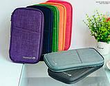 Многофункциональный органайзер Органайзер для путешествий AviaTravel+ 14х26 см (фиолетовый), фото 4